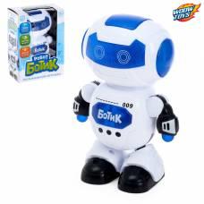 Робот «Ботик» музыкальный, танцует, русский звуковой чип, световые эффекты WOOW TOYS