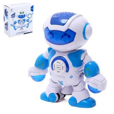 Робот «Весельчак», звуковые эффекты, с проектором Sima-Land