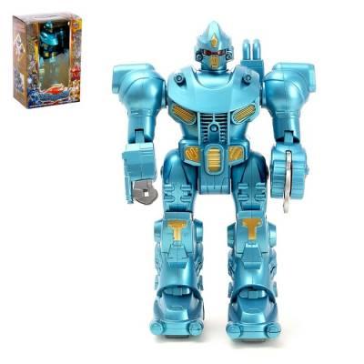 Робот «Гладиатор», работает от батареек, световые эффекты Sima-Land
