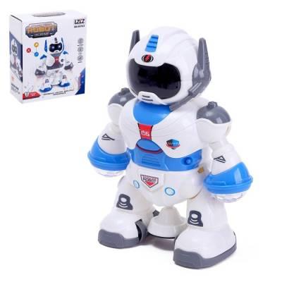 Робот «Брейкер», световые и звуковые эффекты, работает от батареек Sima-Land