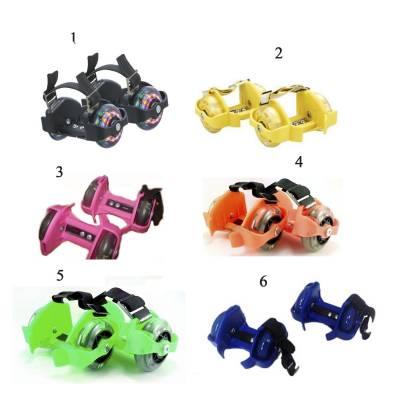 Накладные мини-ролики Flashing Roller со светящимися колесами