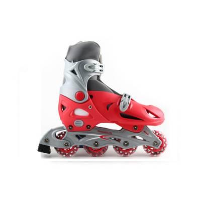 Раздвижные роликовые коньки T-R, красные, размер 37-40