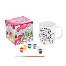Кружка керамическая для росписи My little Pony, 400 мл Multi Art