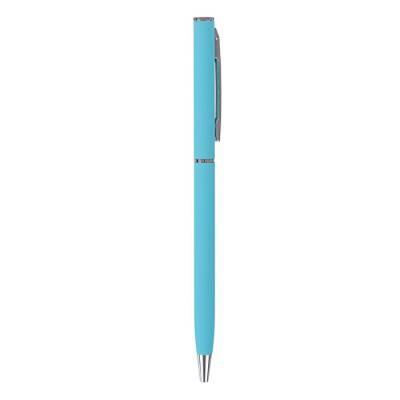 Ручка шариковая автомат BrunoVisconti Palermo 0.7мм стер/син метал/корп бирюз 20-0250/09 BrunoVisconti