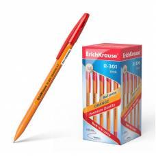 Ручка шариковая ErichKrause R-301 Orange Stick 0.7, красная, 1 шт Erich Krause