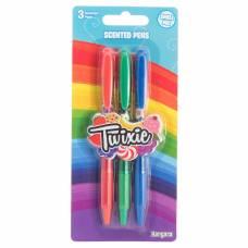 Ароматизированные шариковые ручки Twixie, 3 шт Kangaru
