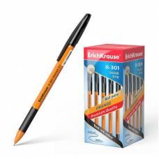 Ручка шариковая ErichKrause R-301 Orange Stick&Grip 0.7, черная, 1 шт Erich Krause