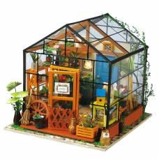 Интерьерный конструктор DIY House - Зимний сад (свет) Robotime