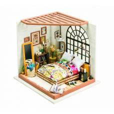 Интерьерный конструктор DIY House - Спальня (свет) Robotime