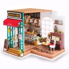 Интерьерный конструктор DIY House - Кафе Саймона (свет)  Robotime