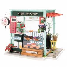 Интерьерный конструктор DIY House - Станция мороженого (свет)  Robotime