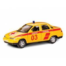 Коллекционная машинка LADA 110 - Скорая помощь, 1:36 Autotime (Autogrand)