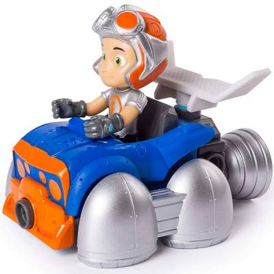 Строительный набор Rusty Rivets с фигуркой героя - Flying Rusty Kart, малый Spin Master