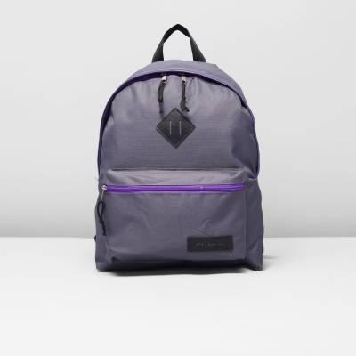 Молодежный рюкзак, серо-фиолетовый  RISE