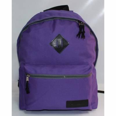 Молодежный рюкзак, фиолетово-серый  RISE