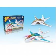Игрушечный самолет Flash Plane (3D-свет)