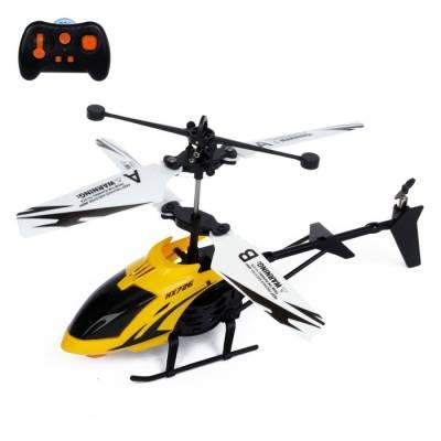 Вертолёт радиоуправляемый «Покоритель небес», работает от аккумулятора, цвета МИКС Sima-Land