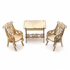 Сборная деревянная модель мебели