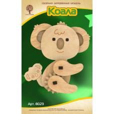 Модель деревянная сборная с шестерёнками. Коала Wooden Toys / Чудо-Дерево