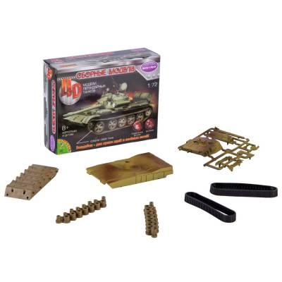 Сборная 4D-модель танка