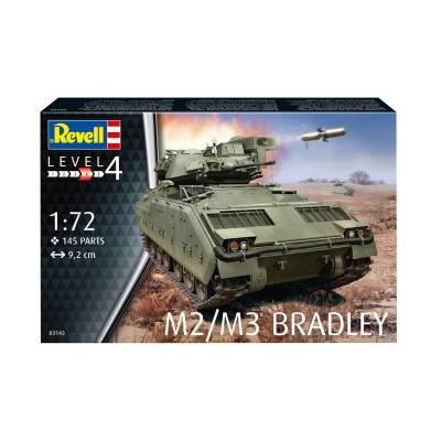 Сборная модель БМП M2/M3 Bradley, 1:72 Revell
