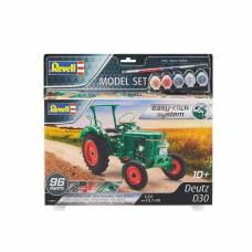 Набор со сборной моделью Revell 67821 Трактор Deutz D30, 1:24 Revell