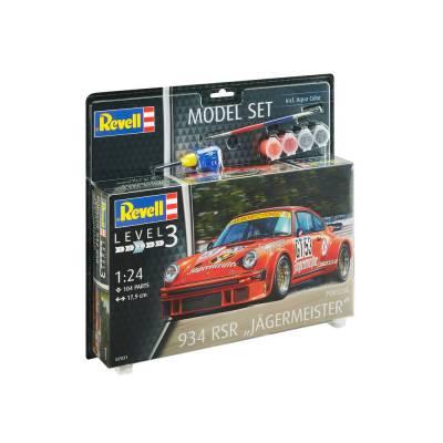 Подарочный набор со сборной моделью Porsche Jagermeister, 1:24 Revell