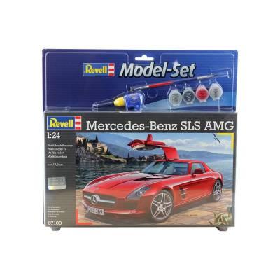 Подарочный набор со сборной моделью автомобиля Mercedes-Benz SLS AMG, 1:24 Revell