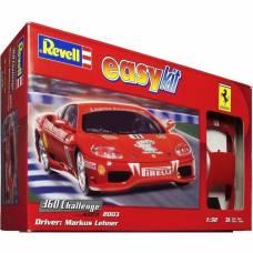 Сборная модель автомобиля Ferrari 360 Challenge - Markus Lehner, 1:32 Revell