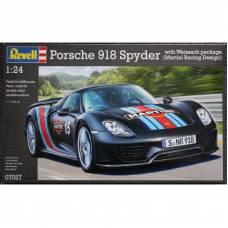 Сборная модель автомобиля Porsche 918 Spyder, спортивная версия, 1:24 Revell