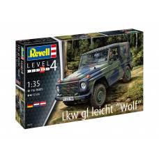 Сборная модель военного автомобиля Lkw gl leicht «Wolf» Revell