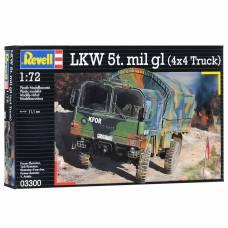 Немецкий армейский грузовик 5t. mil gl, 1:72 Revell