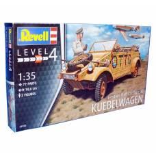 Сборная модель автомобиля Kubelwagen - Type 82, 77 деталей, 1:35 Revell