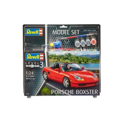 Подарочный набор со сборной моделью автомобиля Porsche Boxster, 1:24 Revell