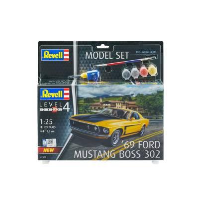 Набор Спорткар 1969 Boss 302 Mustang Revell