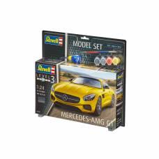 Сборная модель автомобиля Mercedes AMG GT, 1:24 Revell