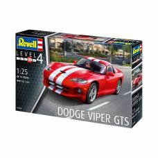 Сборная модель автомобиля Dodge Viper GTS, 1:25 Revell