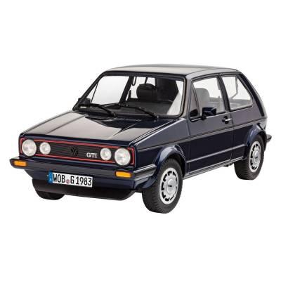 Подарочный набор с моделью автомобиля Volkswagen Golf 1 GTi Pirelli, 1:24 Revell