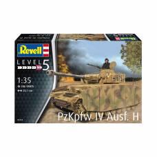 Сборная модель немецкого танка Panzer IV Ausf. H, 1:35 Revell