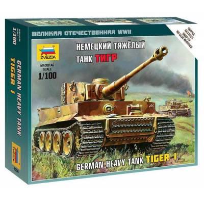 Сборная модель немецкого тяжелого танка