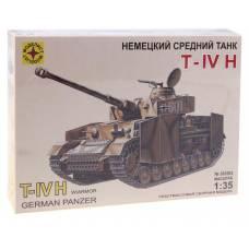 Сборная модель - Немецкий танк T-IV H, 1:35 Моделист