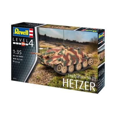 Сборная модель истребителя танков Jagdpanzer 38 t, 1:35 Revell