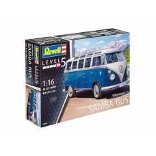 Сборная модель Volkswagen T1 Samba Bus, 1:16 Revell