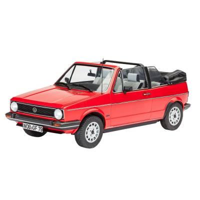 Подарочный набор для сборки VW Golf 1 Cabrio, 1:24 Revell
