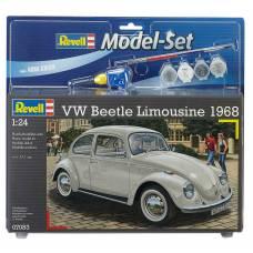 Подарочный набор для сборки VW Beetle Limousine 68, 1:24 Revell