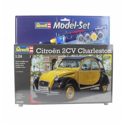 Подарочный набор со сборной моделью автомобиля Citroen 2CV Charleston, 1:24 Revell