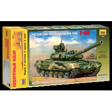 Подарочный набор со сборной моделью танка