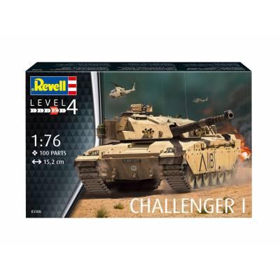 Сборная модель танка Challenger I, 1:76 Revell