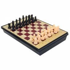 Игра настольная шахматы с ящиком, магнит, (пешка 2.3см, король 4.8см), в коробке, 30х22см Sima-Land