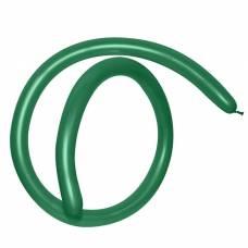 Шар для моделирования 260, пастель, набор 100 шт., цвет тёмно-зелёный Semper